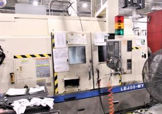 "13.5"" X 40"" Okuma Lb300My Cnc Turning Center Lathe With Y-Axis"