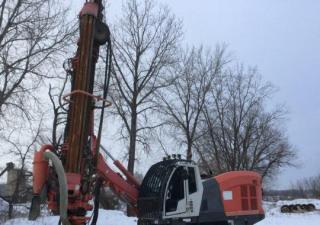 2011 Sandvik Di550 Crawler Mounted Blast Hole Drill