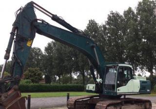 2012 Volvo Ec300Dl Track Excavator