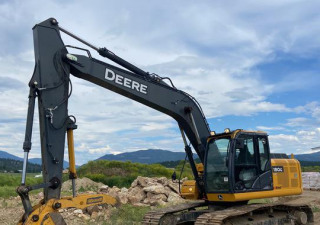2018 John Deere 180G Lc Track Excavator