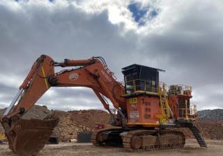 2012 Hitachi Ex1900-6Be Track Excavator