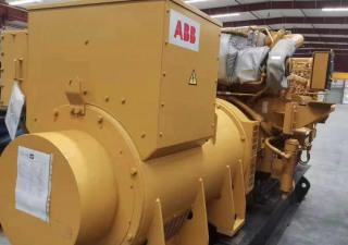 Caterpillar 3512C with ABB alternator new marine generator sets