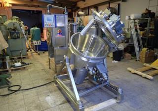 120 Litre Nirosta Model Niromix 120 Stainless Steel Hi-Intensity Mixer