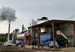 Complete drying plant