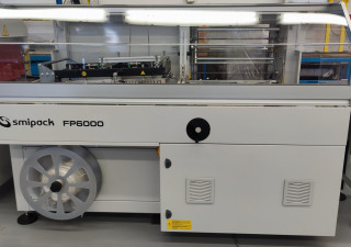 Smipack FP6000 with new coveyor and shrink tunnel T450
