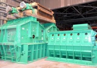Broyeur à marteaux en acier au carbone modèle Sxcb-225 de broyeur de charbon de Pennsylvanie de 2500 ch