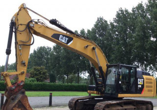 2011 Cat 329Eln Track Excavator