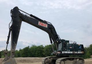 Hitachi Ex1100 Track Excavator