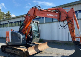 2012 Hitachi Zx85Us-3 Track Excavator