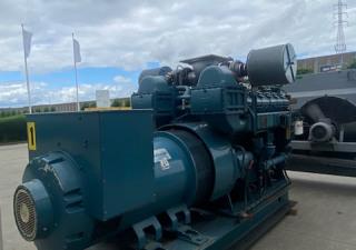 Wartsila-SACM UD 30V12 Generator set