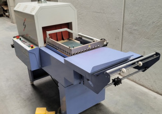 ANGLE WELDER WITH SHRINK TUNNEL