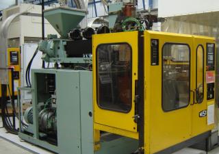 Used Hesta HGL 603 Blow Moulding Machine