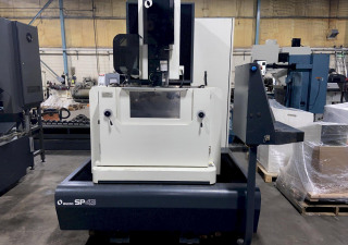 """Makino Sp43 Cnc Wire Edm, Mgw-S5 Control, 18""""/12""""/12.6"""" Travels, Auto Thread, Submerged, Chiller, 2007"""