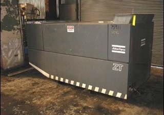 60 Hp Atlas Copco Air Compressor, Model Zt245