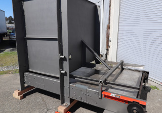 Used Currie LSP-8DR-1412 High level / Full case automatic palletizer