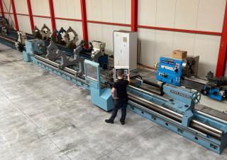 CNC turning lathe VDF Wohlenberg - U 900 CNC