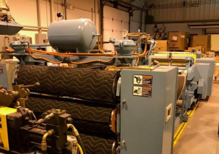 58″ Wide 3.5″ 150 Hp Nrm Complete Lab Sheet Extrusion Line