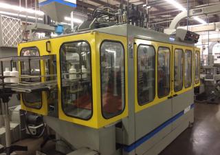 1996 Uniloy Comec Model MSC/D Continuous Extrusion Blow Molding Machine
