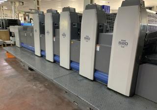 RYOBI 525 GX 35x50 OFFSET PRINTING MACHINE