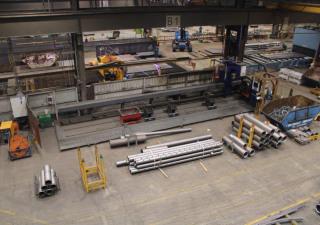 Plasma Pipe and Box section cutting machine Ø 1016 mm HGG - MPC 450 - 1000 6808 = Mach4metal