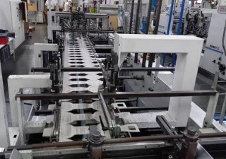 Bobst DOMINO 110M folding machine
