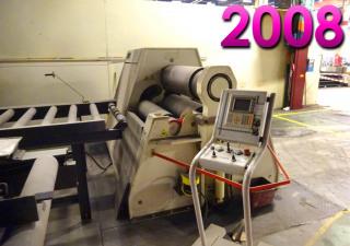 Davi 1100 x 40 mm CNC Plate rolling machine - 4 rolls