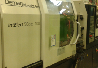 Demag 50 T INTELEC Injection moulding machine