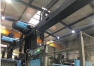 DEMAG 650T-1000-3300 Injection moulding machine