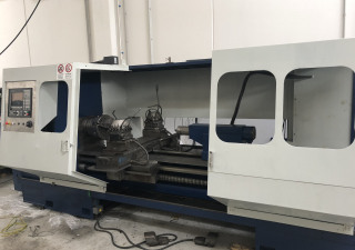 Overhauled Parallel self-learning lathe Graziano Sag 23 Cnc Fagor 8055