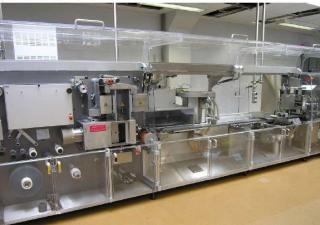 PRICE REDUCED -- Mediseal CP 400 / P 3000 Cartoning machine