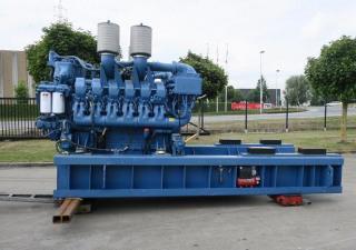 MTU 12V4000 Generator set