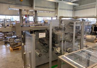 Romaco Siebler + Marchesini HM1E/160 + MA80 Cartoning machine