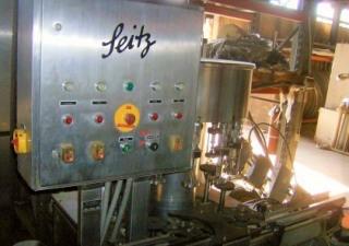 Ligne de remplissage, bouteille, tête Seitz 12, 750 ml de vin, 60 Bpm