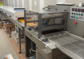 Savy Goiseau Crystal 455 + Cooling tunnel + Melter Chocolate production machine