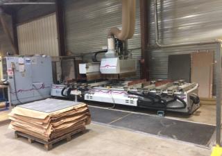 Weeke BP145 Wood CNC machining centre