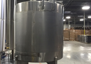 1,150 gallon st jacketed mixing