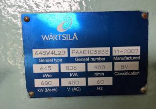 Wartsila W4L20