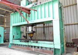 Faccin Ppm 500 Ton Hydraulic Dishing Press