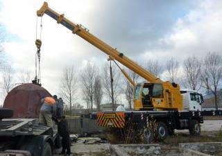 Mobile crane Hidrokon HK 30