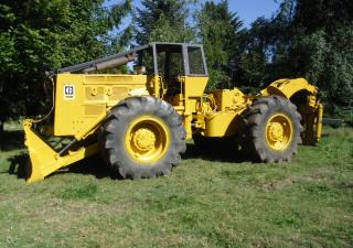 Caterpillar 528 Log Skidder
