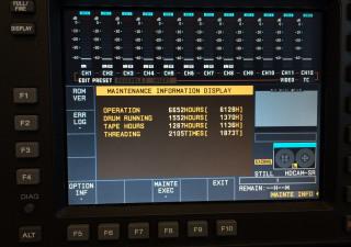 Sony HDCAM SRW - 580