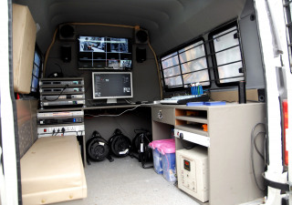 Production Van  blackmagic me1