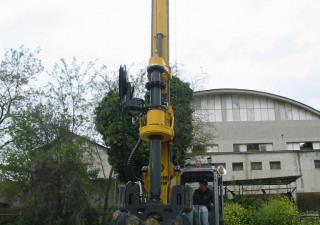 New piling / dr Tescar CF3 DW