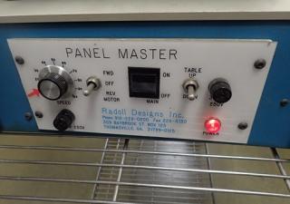 Radoll Designs 145 Panelmaster Circuit Board Panel Scouring Machine