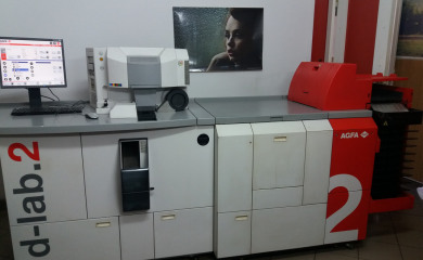 Buying Used Minilab Printer to Photo Shop