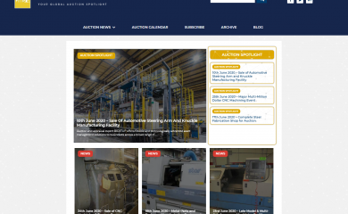 The Latest Industrial Auction Updates from Bidderlists