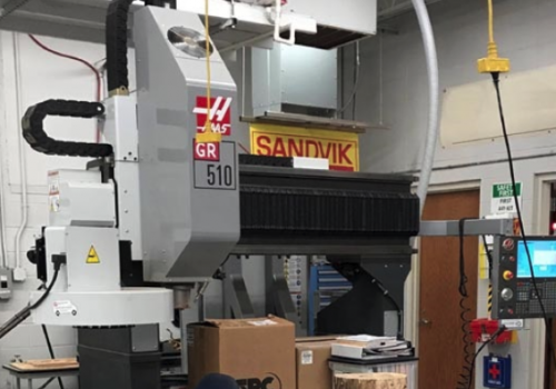 Used Haas GR510 ext Z vac for sale in USA - Kitmondo