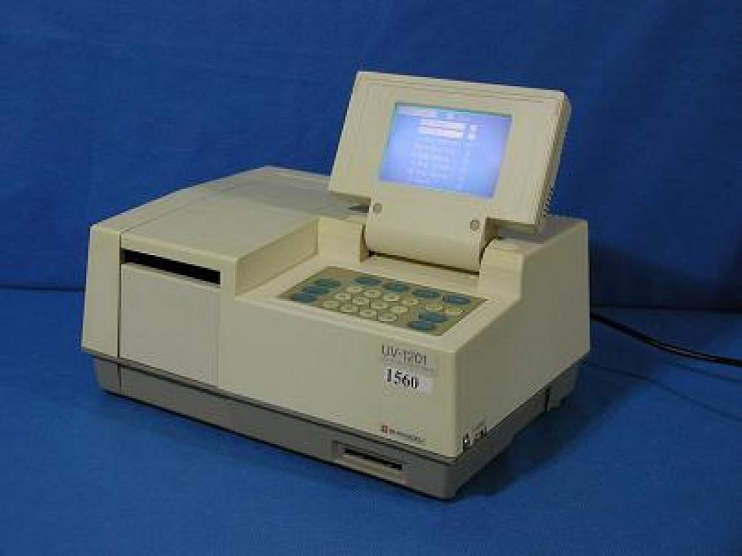 Used Shimadzu UV - 1201 for sale in Canada - Kitmondo