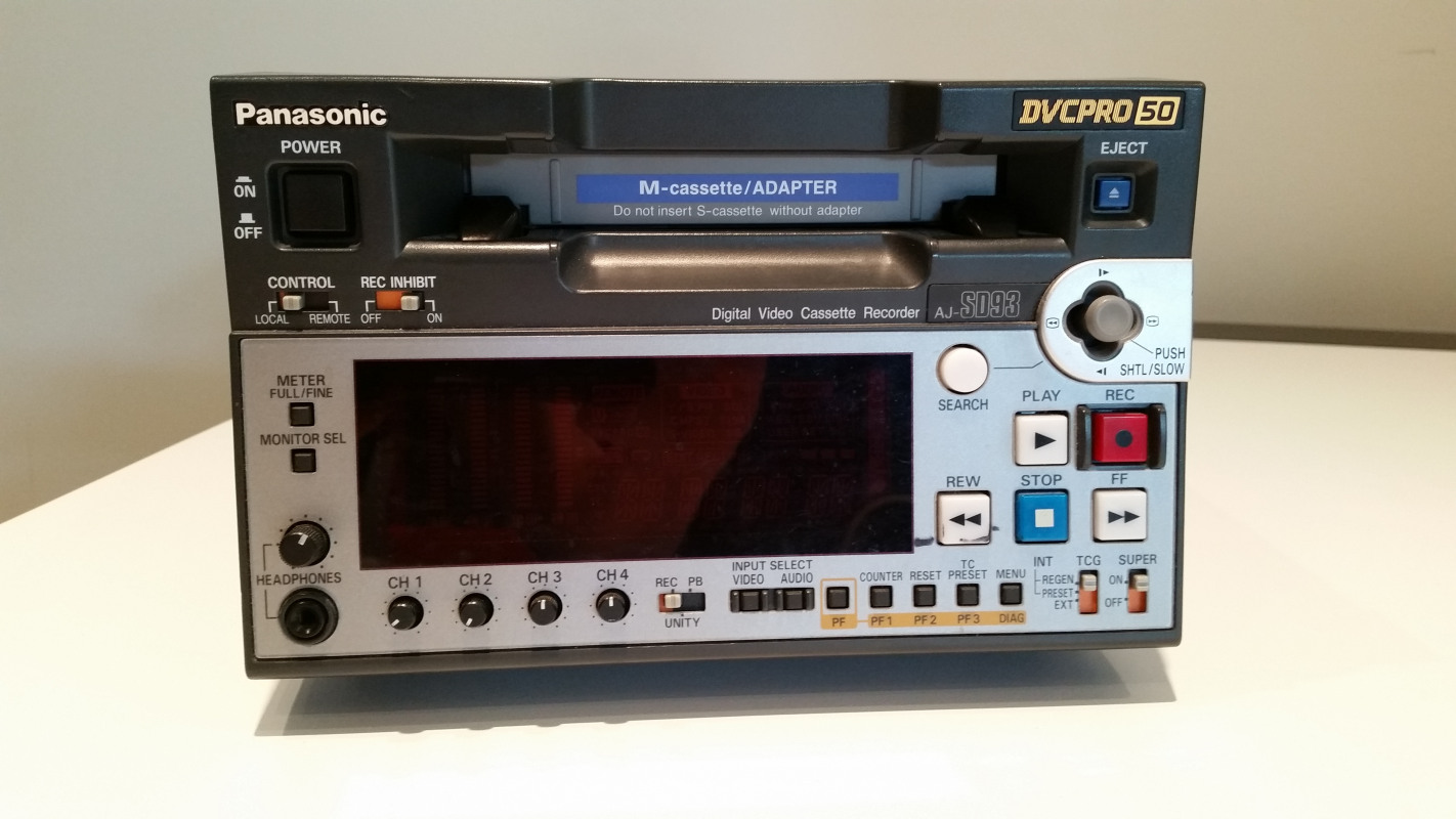 Used Panasonic AJ-SD93P for sale in USA - Kitmondo