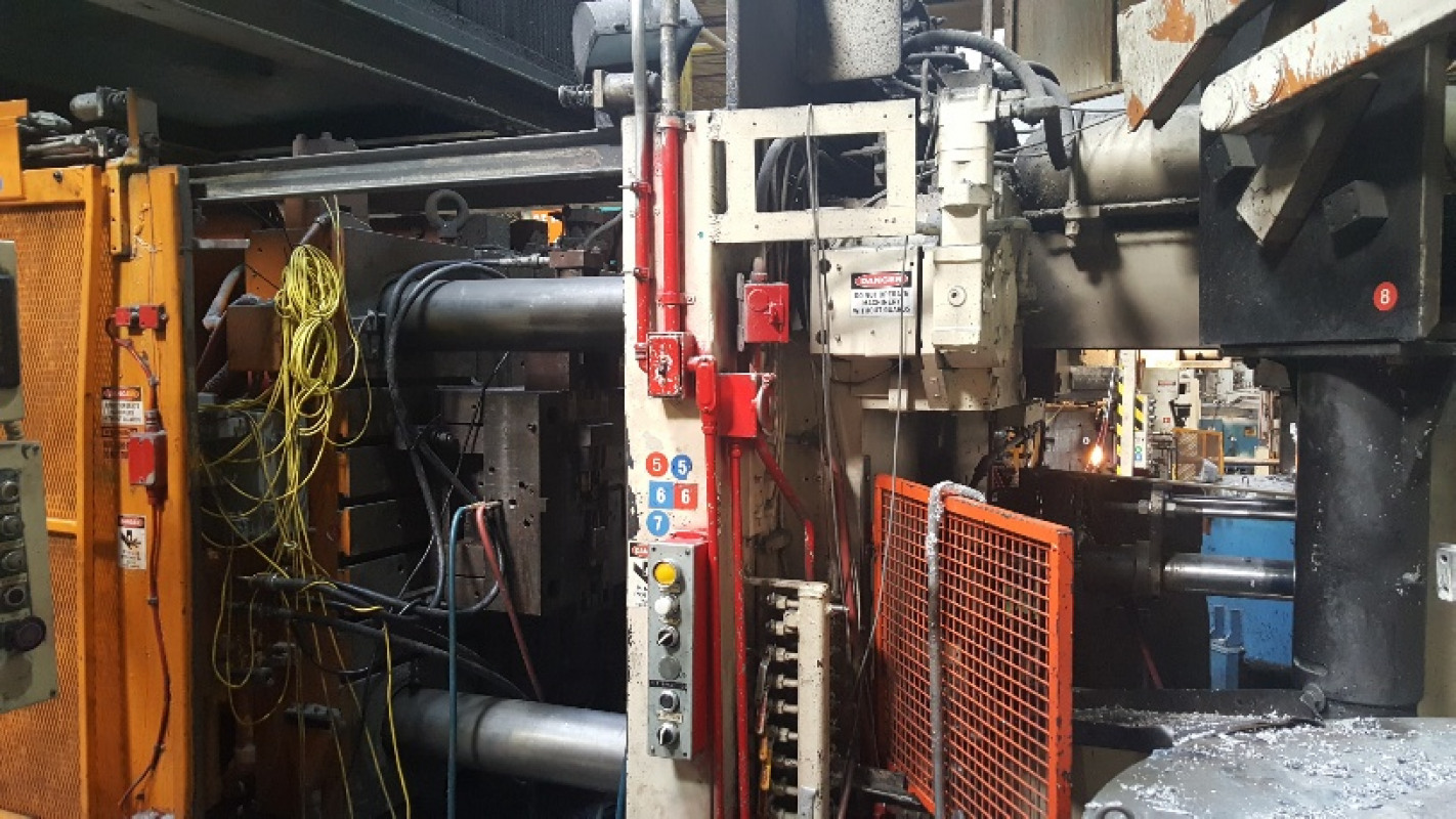 Used B & T 800 Ton Die Casting Machine for sale in USA